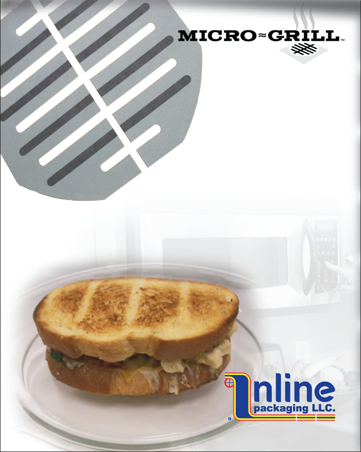 Micro~Grill™ - Microwave Susceptor Food Packaging & Crisping